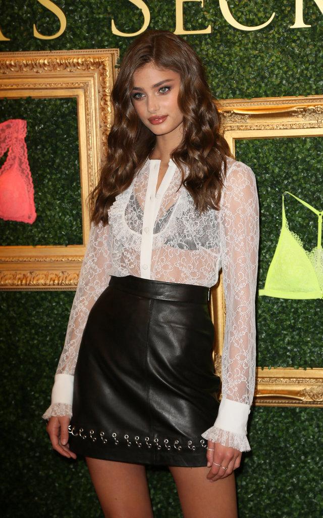 Taylor Hill à la soirée de présentation Victoria's Secret