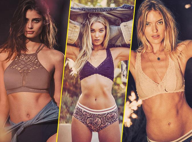 Taylor Hill, Elsa Hosk et Martha Hunt pour Victoria's Secret