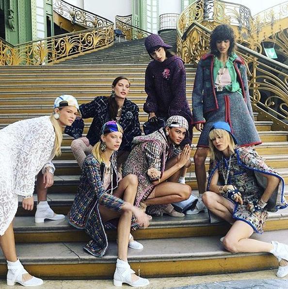 Le gang de mannequins de Chanel