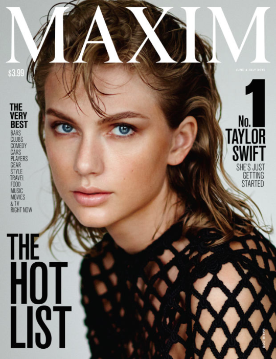 Photos : Taylor Swift élue femme la plus hot de l'année par Maxim Magazine !