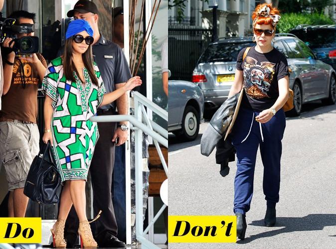Le headband : Do - Kourtney Kardashian / Don't - Paloma Faith