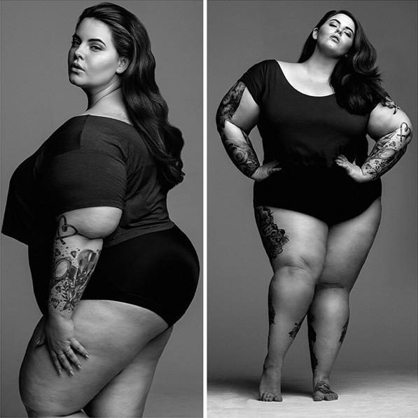 Photos : A 113 kg, Tess Holliday est la mannequin la plus oversize ! Elle pose pour son premier shooting !