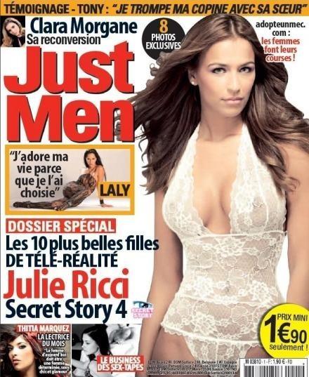 Julie Ricci : une femme glamour !