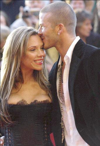 Victoria et David Beckham Abaca