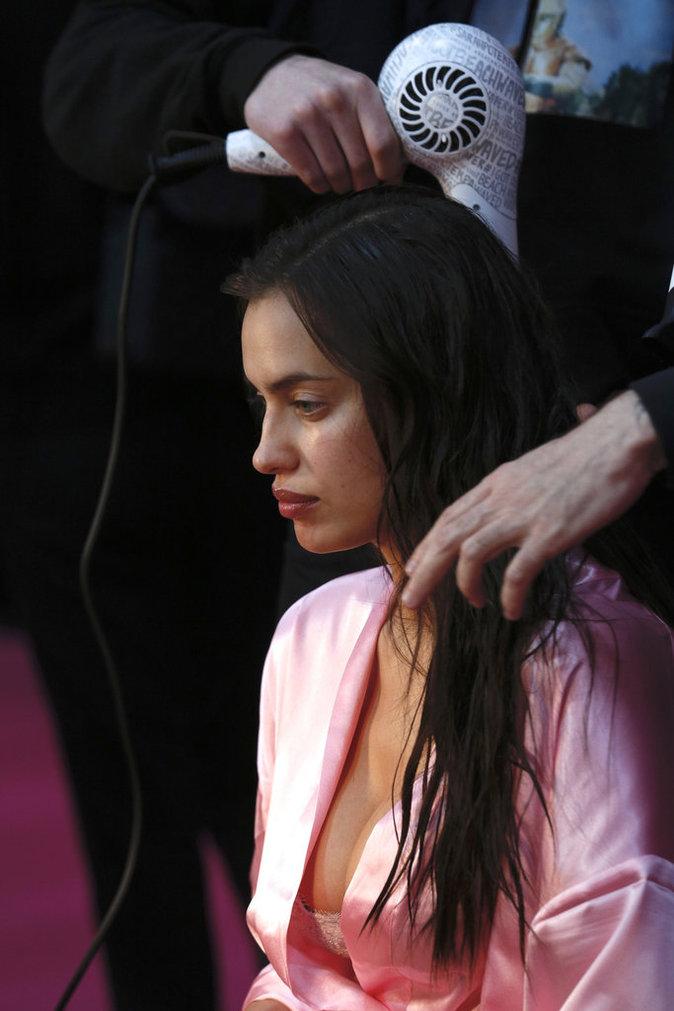 Victoria's Secret Fashion Show : En direct des backstages : Irina Shayk