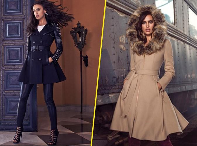 Photos : Irina Shayk nous promet un hiver trendy avec la nouvelle collection Bebe !