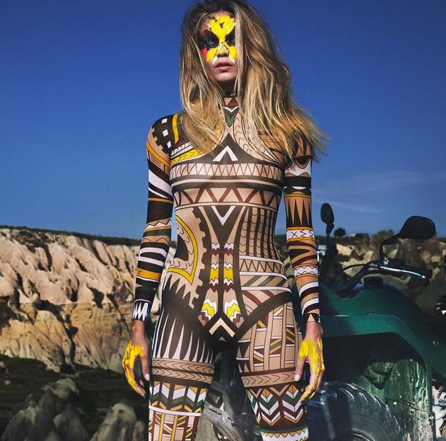 Natasha Poly pour Vogue Paris