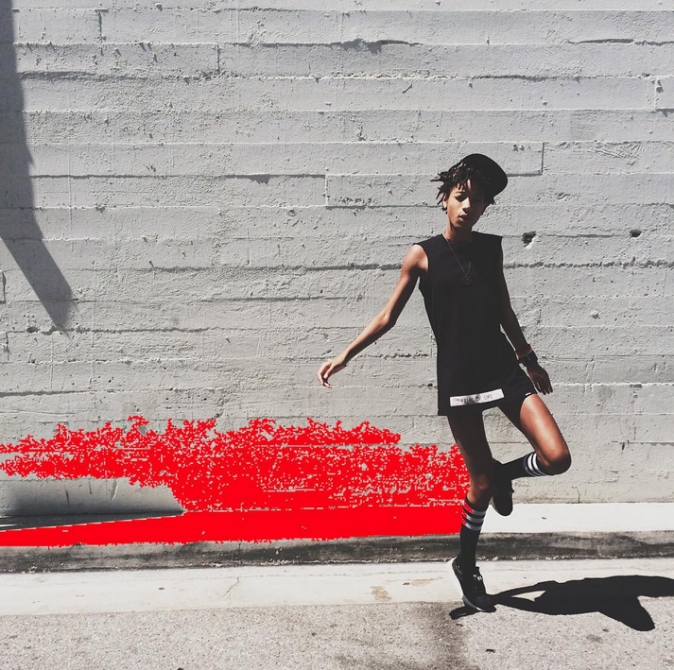 Photos : Willow Smith : la teenage girl rejoint l'agence de mannequin de Kendall Jenner !