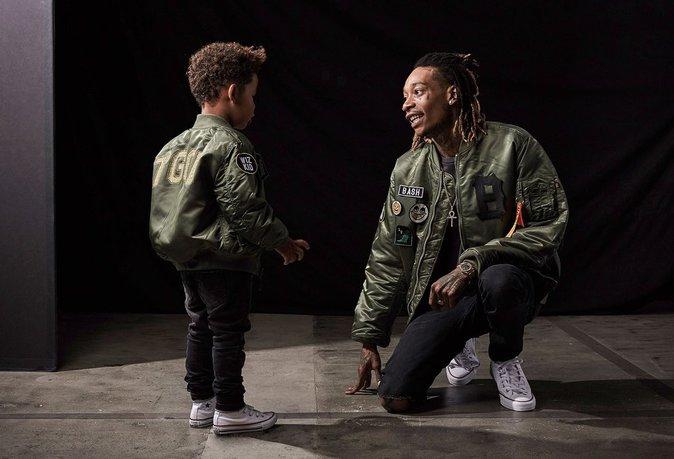 Photos : Wiz Khalifa : Son fils devient son égérie !