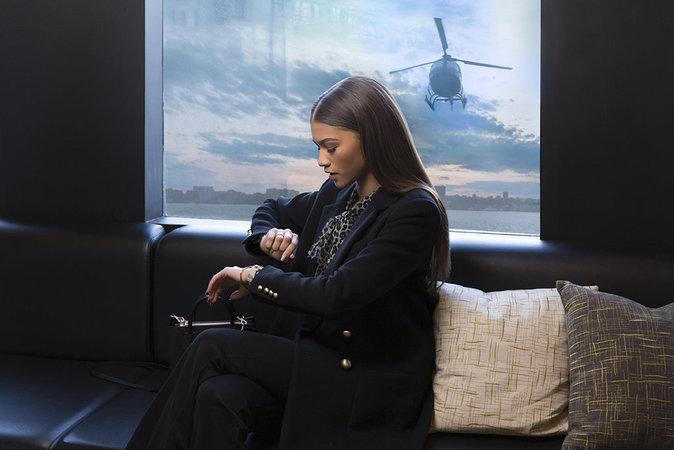 Photos : Zendaya Coleman et Martha Hunt : ultra connectées pour Michael Kors !