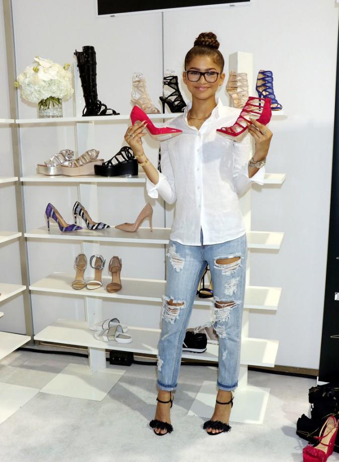 """Photos : Zendaya : sa collection de chaussures """"Daya"""" enfin lancée !"""