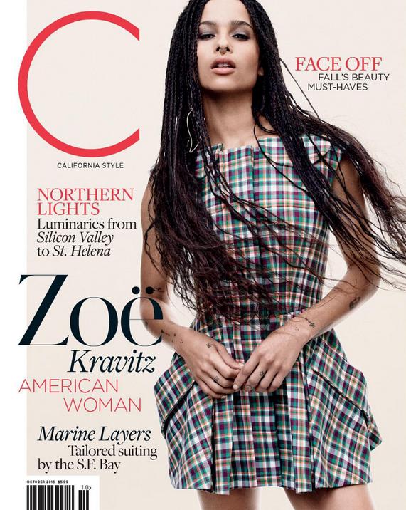 Photos : Zoé Kravitz : irrésistible en couv' du C Magazine !