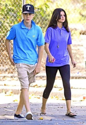 Selena Gomez quand Justin était encore d'actualité.