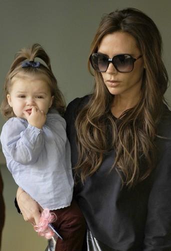 Victoria et sa fille.