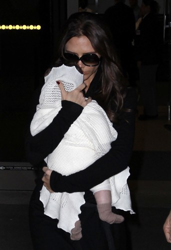 Victoria et sa fille Harper