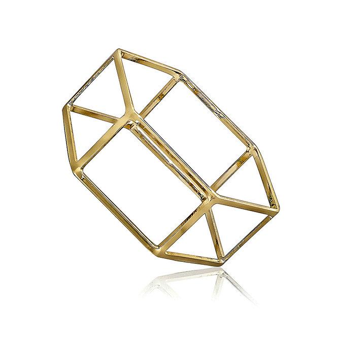 Bracelet métal doré, fashionvictime.fr 20€