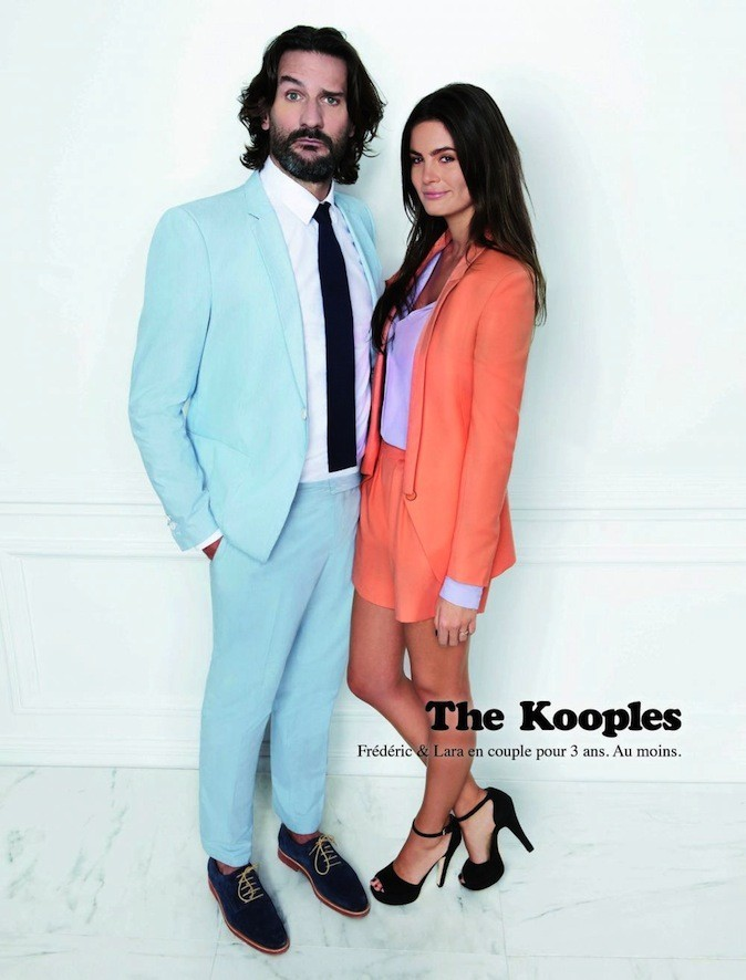 Frederic Beigbeder pour The Kooples