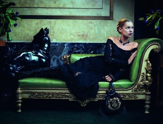 Kate Moss pour Salvatore Ferragamo