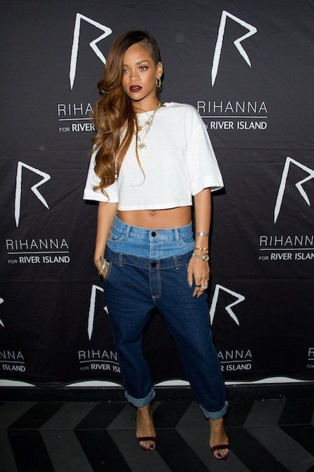 Rihanna en Rihanna pour River Island