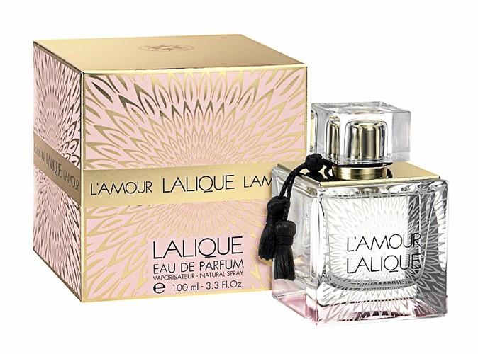 L'amour, Lalique. 50 ml. 81 €.