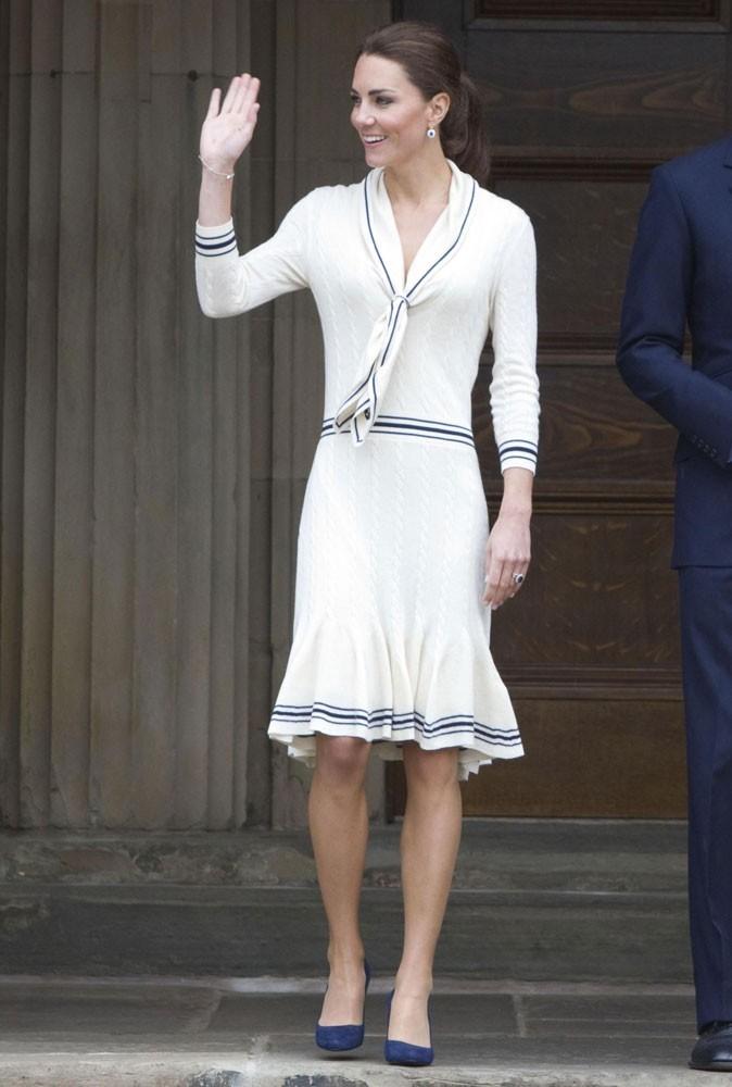 ... ou Kate Middleton le 4 Juillet 2011 au Canada ?