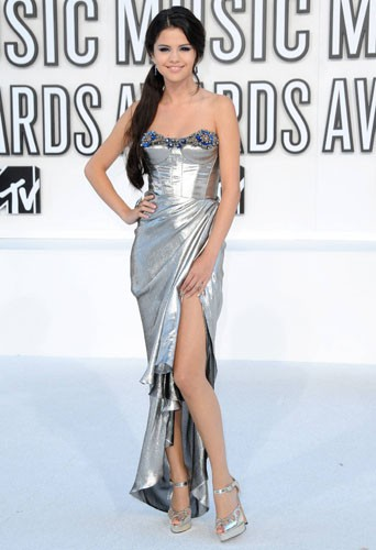 Selena Gomez aux MTV Video Music Awards le 12 septembre 2010.