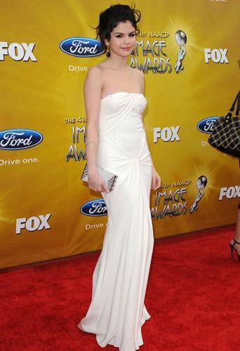 Selena Gomez aux NAACP Image Awards, le 26 février 2009.