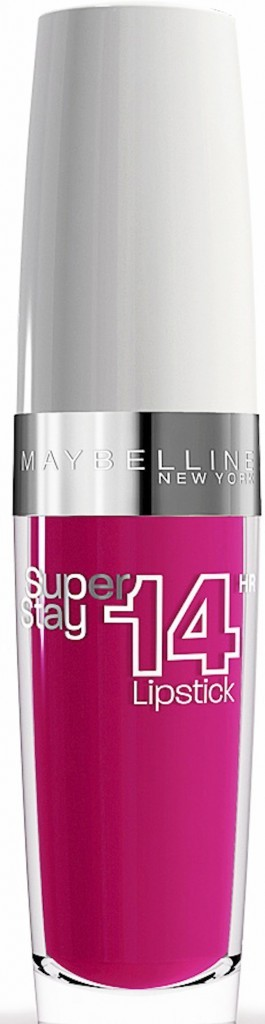 Rouge à lèvres, Infinitely fuchsia, SuperStay 14h, Gemey-Maybelline 15,90 €