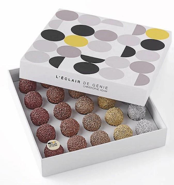 Boîte de 25 truffes (520 g) par Christophe Adam, L'Éclair de Génie 50 €
