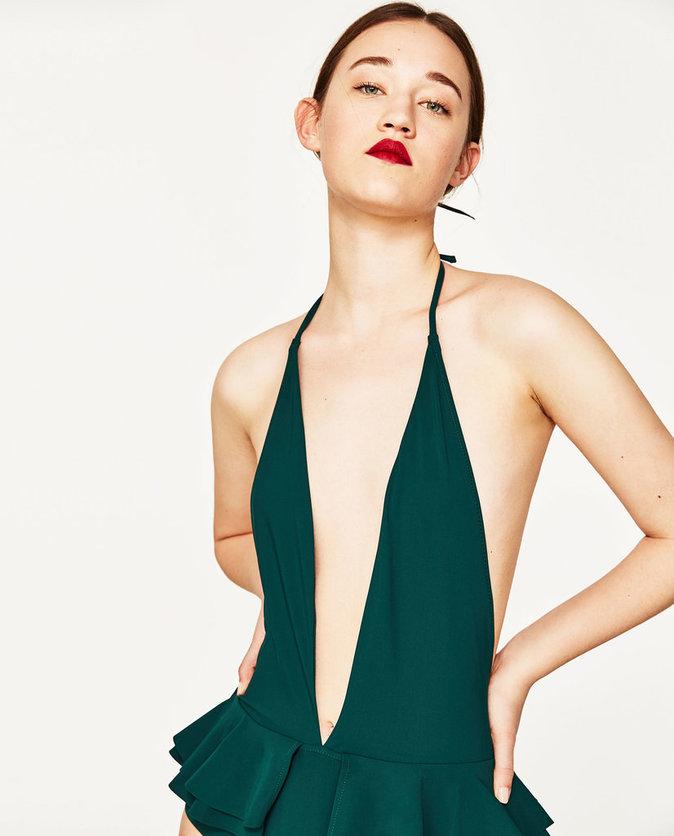 Shopping mode zara lance une collection de maillots de - Maillot de bain des annees 30 ...