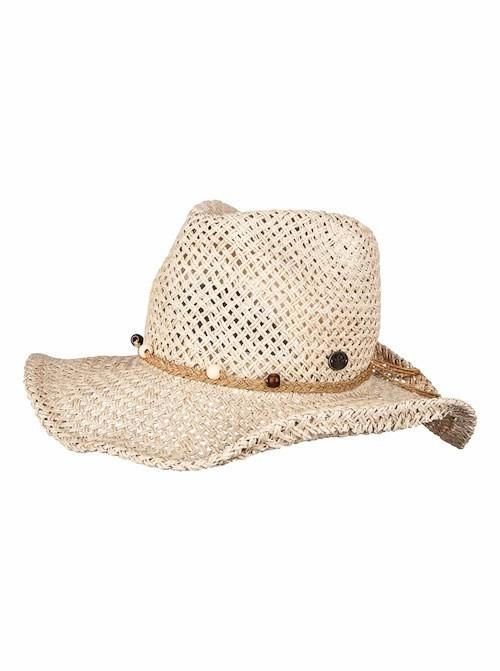 Chapeau de paille et perles, Roxy 35 €