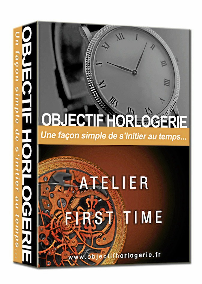 Atelier First Time, Objectif Horlogerie 290 €