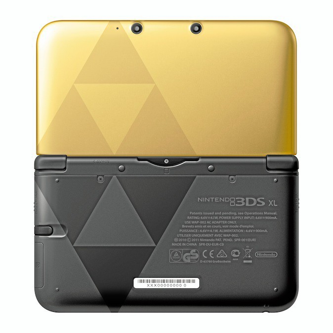 Console Nintendo 3DS XL Zelda, a Link Between Worlds, 214 €