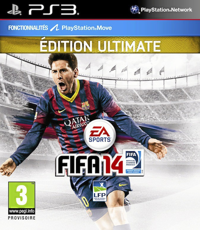 Jeu PS3 Fifa 14, Édition Ultimate, Electronic Arts 74€