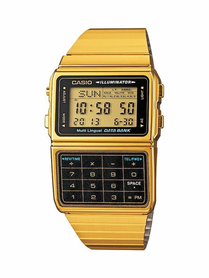 Montre calculatrice, DBC-611GE-1EF, Casio Vintage 89 €