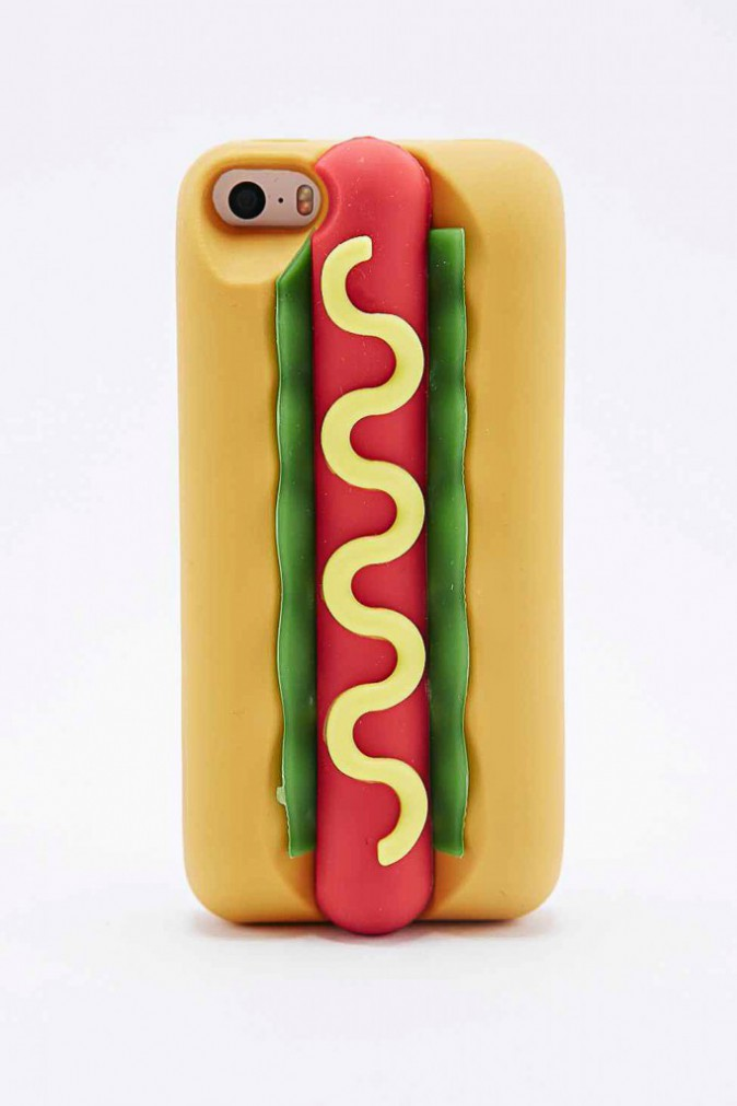 Coque pour iPhone 5 hot dog, Urban Outfitters 17 €