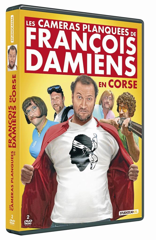 Coffret 2 DVD, Les Caméras planquées de François Damiens, Studiocanal 16,99 €