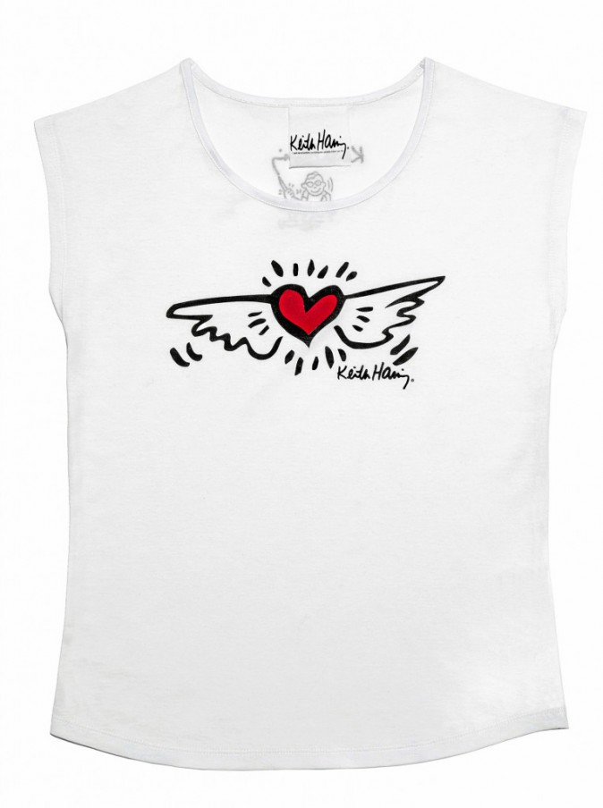 T-shirt Keith Haring, La Halle 14 €