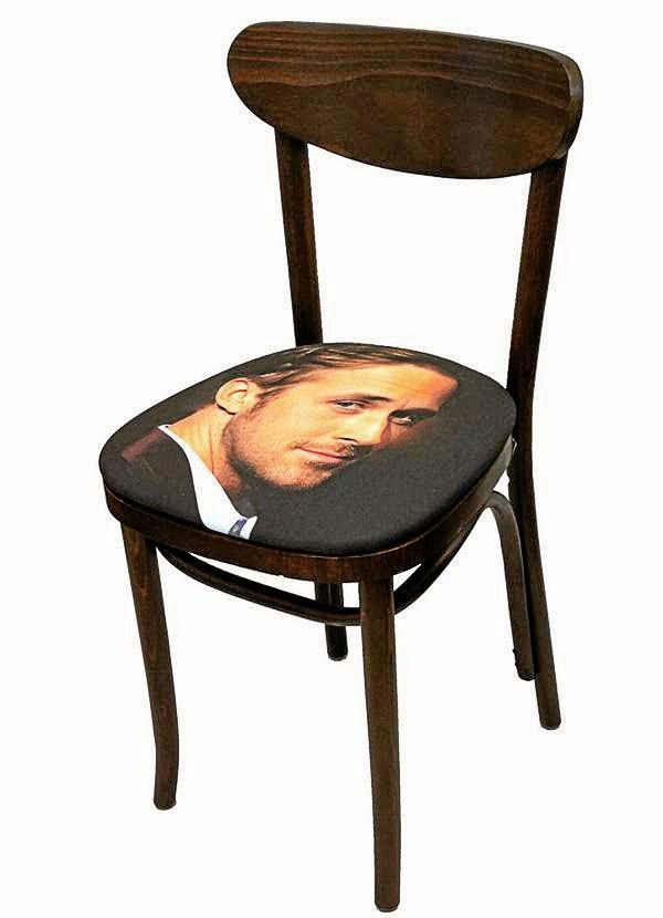 Chaise Ryan Gosling, Jennifer Graylock sur facechairs.com 700 €