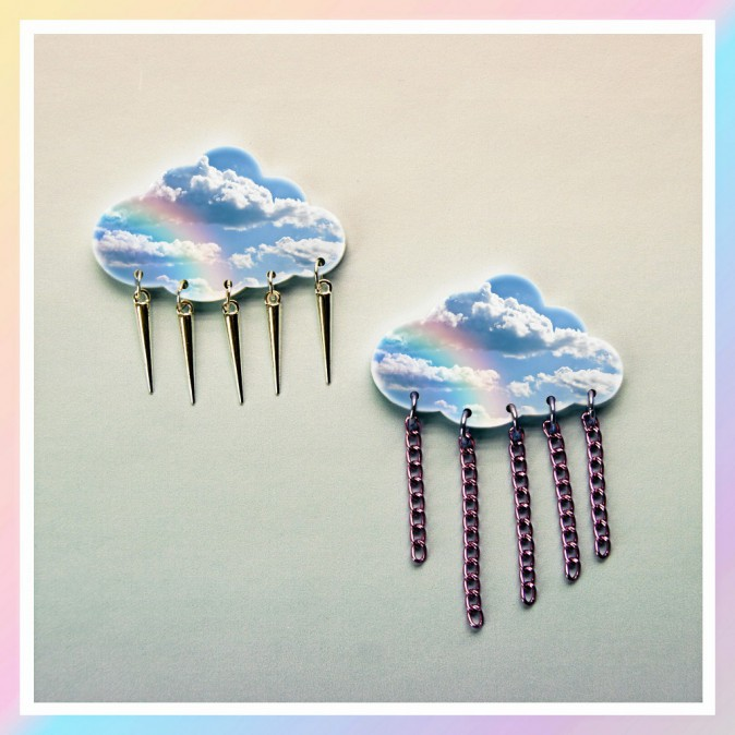 Broches nuages, Suzywan, 18 €