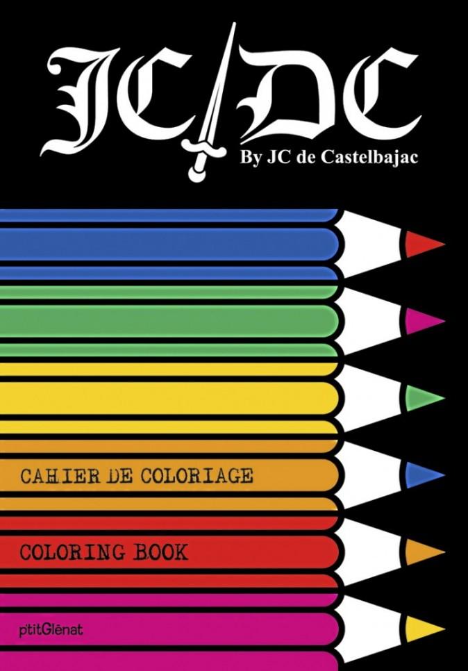 Cahier de coloriage Jean-Charles de Castelbajac Chez Hors Collection. 6,99 € et 12,20 €.