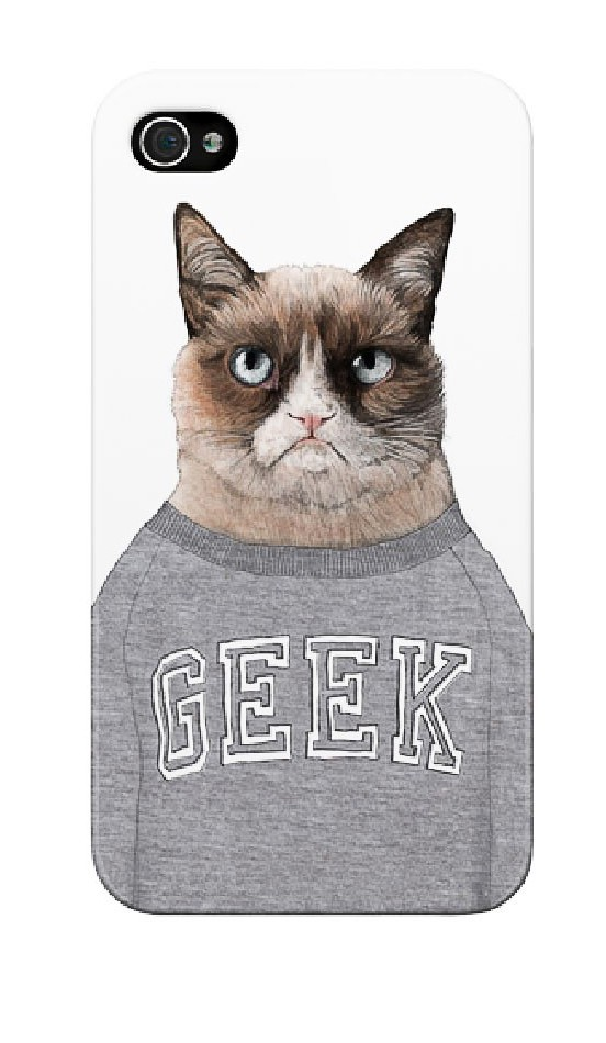 Prêt au casque: Grumpy cat, Ohh Deer, thelostlanes.com, 18€