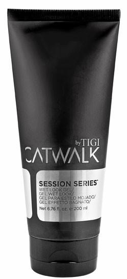 Des soins sur mesure : Catwalk Session, Serie Gel Wet look 200 ml. 10,95 €.