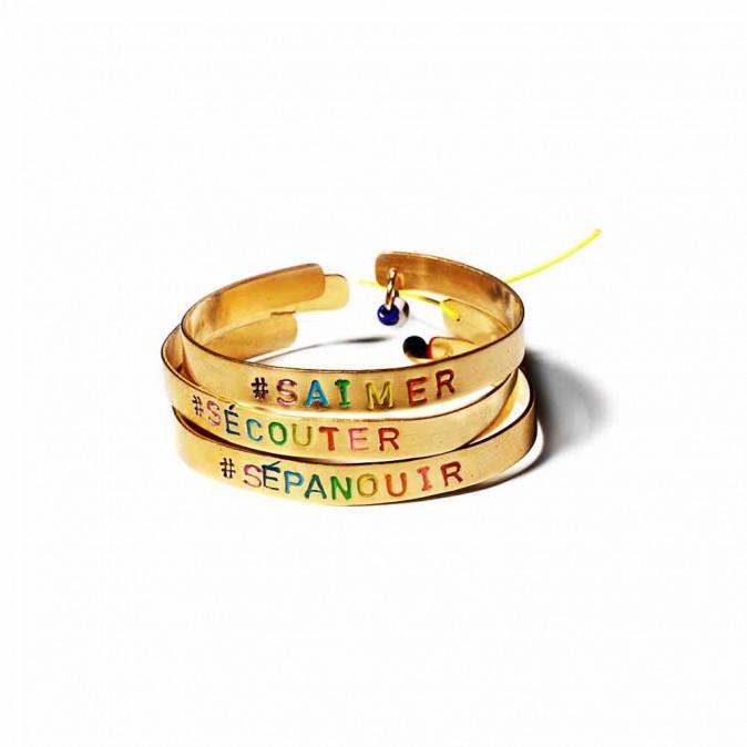Bracelets Hashtag, Mimilamour 38 € l'un