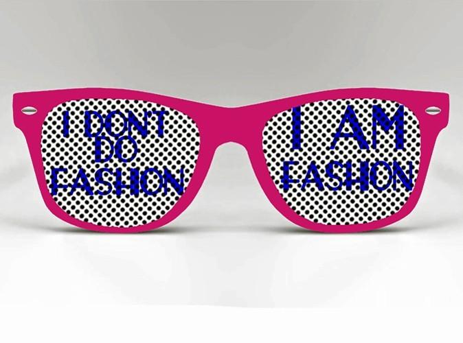 Lunettes de soleil en plastique, I am fashion, sur crystalcustom.com, 9,50 €.