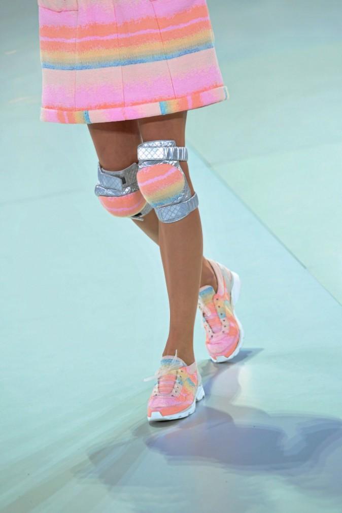 Les genouillères : défilé Chanel haute couture !