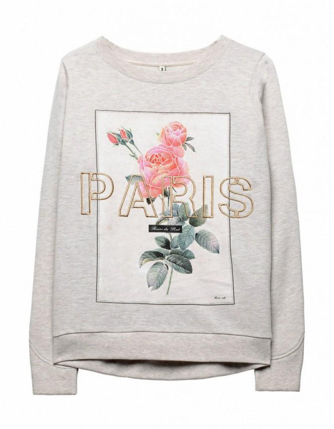 Sweat-shirt Paris, Stradivarius, 25,95 €