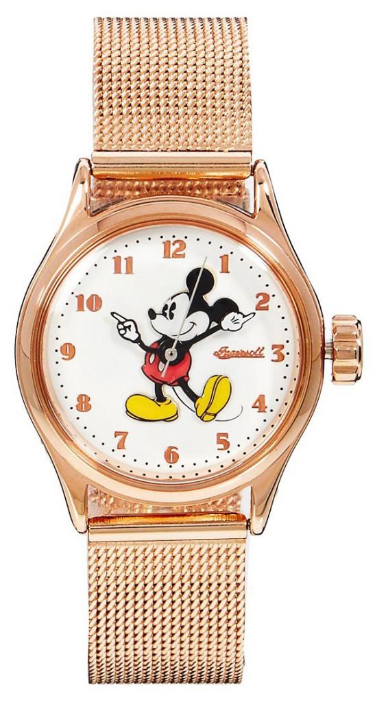 Un hiver à l'eau de rose : Montre Mickey, Disney, 89 €