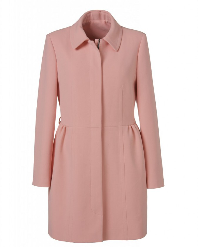 Manteau rose pastel Primark 40€