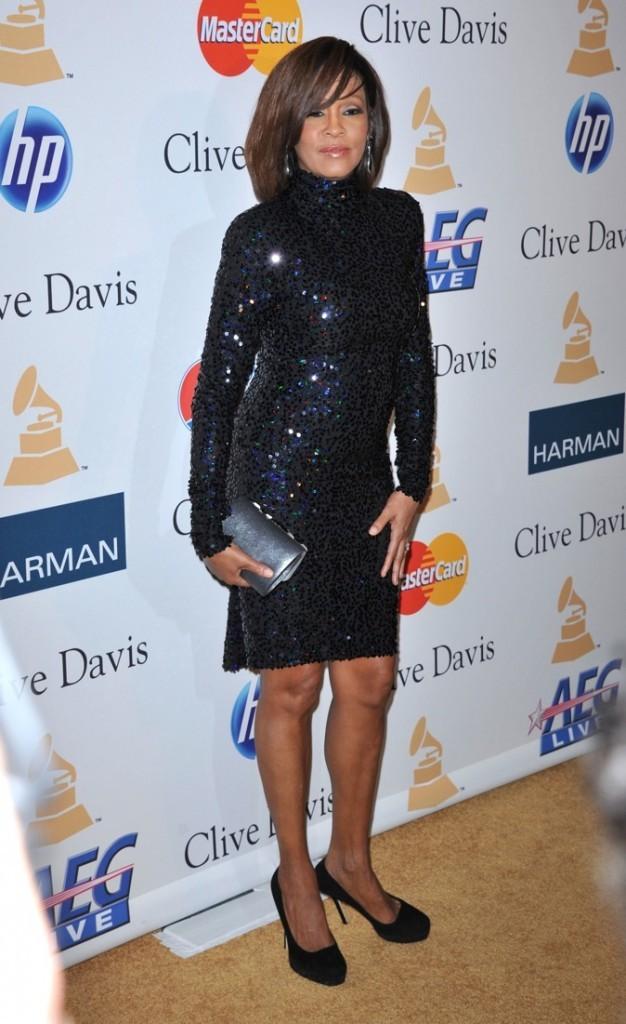 Février 2011 : Whitney Houston à Beverly Hills